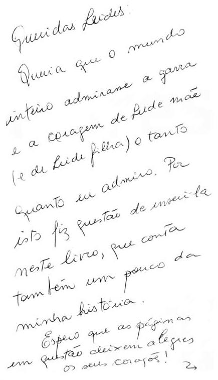 """Citação no Livro """"A ferro e flores"""", de Lygia Barbiere Amaral"""