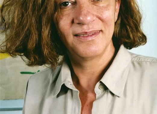 Leide em seu escritório, em 2004, antes do aparecimento dos sintomas da ELA (Esclerose Lateral Amiotrófica). Fotos de Arquivo Pessoal.