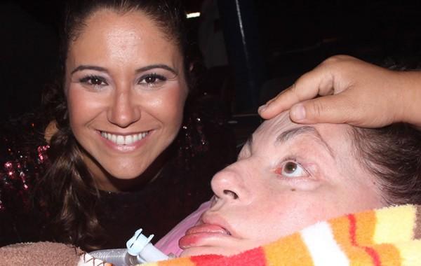 Leide e Maria Rita, em 2010. Foto de Fernanda Prado.