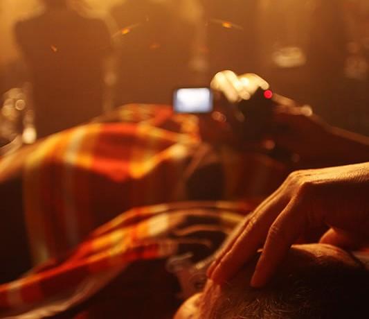 Visão de Leide em show de Maria Rita, em 2010. Foto de Fernanda Prado.
